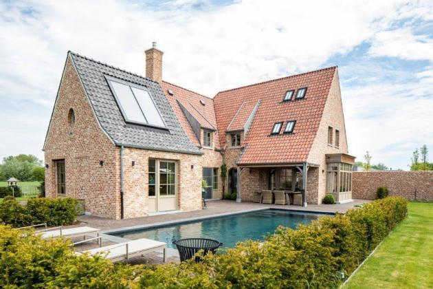 Villa met zwembad (Zottegem)