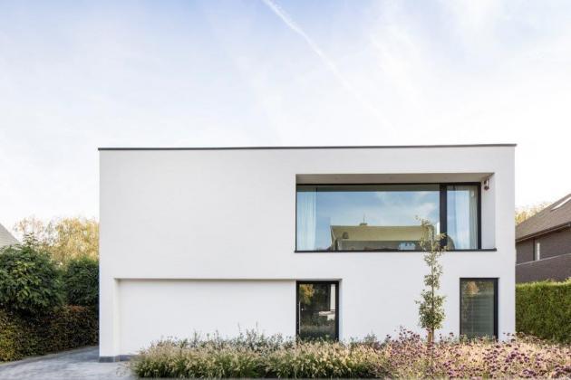 Moderne woning met crepi (Overmere)